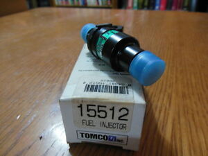 NOS Tomco 15512 Fuel Injector-Port For Many 80's BMW, Buick, Chry, Dodge & More