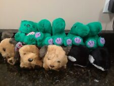 Puffkins Lot Pickles Fetch Orca and Holiday Limited Edition Bear NWT