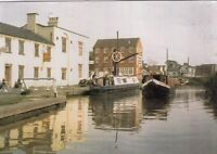 Postcard - Audlem - The Wharf - On the Shropshire Union Canal