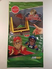 Klutz Subway Table Top Football Kids Meal Toy