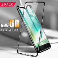 2x 6D Panzerfolie für iPhone SE 2020 Display Schutzglas Full Screen 9H Hartglas