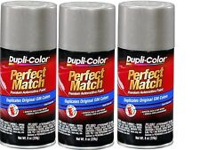 3 Cans-Duplicolor BGM0490 WA382E For GM Code 11 Pewter 8 oz Aerosol Spray Paint
