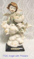 "Giuseppe Armani Figurines ""ANGEL with FLOWERS"" #772 C"