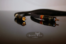 Rca cable   Neotech up-occ 7N copper solid core  -Wbt connectors