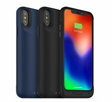 MOPHIE iPhone XS/X Juice Pack Air Wireles Battery Charging Case Cover Black/Blue
