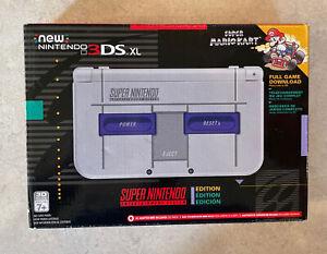 New Nintendo 3DS XL Super Nintendo SNES Edition [NN3DS XL Console]. EUC!