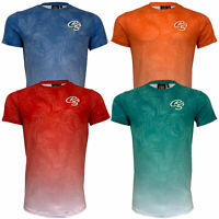 Mens Hawaii T Shirt CRS55 Crosshatch SALICORINIA Short Sleeved Top Beach Summer