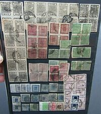 NEPAL - FINE VINTAGE  COLLECTION OF IMPERFS ON LARGE STOCKSHEET - UNCHECKED