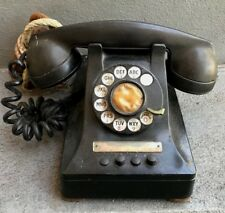 VINTAGE BELL SYSTEM WESTERN ELECTRIC PHONE WITH ROTARY