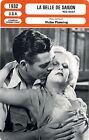 Fiche Cinéma. Movie Card. La belle de Saigon/Red dust (USA) 1932 Victor Fleming