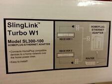 Dish Network Slinglink Turbo W1 SL300-100 Ethernet Sling Internet Adapter 157400
