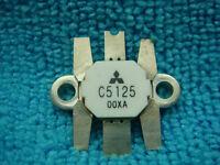 NEW 2 PIECES MITSUBISHI 2SC5125 C5125 NPN RF VHF TRANSISTOR