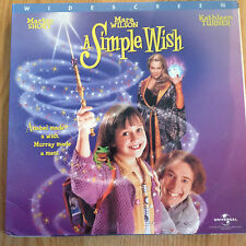 A Simple Wish  Widescreen CLV EXTENDED PLAY Laserdisc 43359