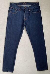 Nudie Steady Eddie Regular Tapered Mens Jeans W34 L34 (D255)