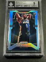 ZION WILLIAMSON 2019 PANINI PRIZM #248 SILVER REFRACTOR ROOKIE BGS 9 W/3 9.5 10