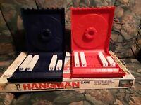 Vintage 1976 Hangman Board Game Milton Bradley Complete, Vincent Price Box