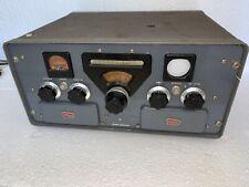 CENTRAL ELECTRONICS MODEL 200V HF TRANSMITTER