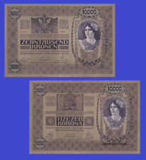 Hungary Austria 10 000 kronen korona 1918. UNC - Reproduction