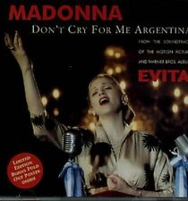 Madonna Don't cry for me Argentina (1996, CD2) [Maxi-CD]