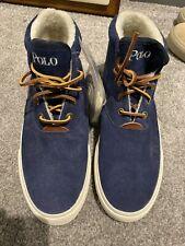 Polo Ralph Lauren Size 8 Blue Sherpa Boots New