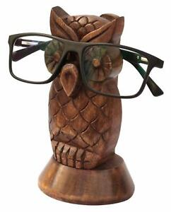 Decorative Spectacle Holder Wooden Eyeglass Home Decor Display Stand Office Desk
