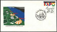 Australia 1988 Expo, Tailandia Nacional día cubierta #C44026