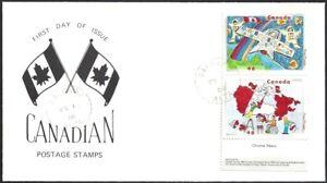 Canada   # 1859 &1861    STAMPIN THE FUTURE EVENT COVER     New 2000 Unaddressed