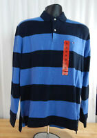 NWT Men's Tommy Hilfiger Classic Fit Long Sleeved Polo Shirt-Variety