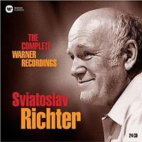 SVJATOSLAV RICHTER - THE COMPLETE WARNER RECORDINGS (LIM.EDITION)  24 CD NEU