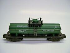 Custom American Flyer Farmers Chemical Association Liquid Fertlilzer Tank Car