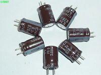 10Pcs Nippon NCC KZG 820uF 6.3V 105℃ Motherboard Capacitor 8X11.5 LOW ESR