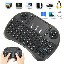 I8 Mini Tastiera Wireless 2.4Ghz Colorato Controluce Air Mouse con Touchpad