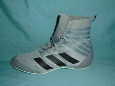 New Wob Adidas Speedex 18 Eg1033 Gray Black Mens Boxing Shoes Size 11 New Wob