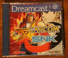 Capcom vs SNK SEGA DREAMCAST --- Reino Unido PAL-NUEVO y Sellado 🎮 🎮 🎮 🎮 🎮 🎮 🎮 🎮 🎮 🎮 🎮 🎮