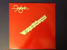 FOGHAT~girls to chat & boys to bounce BEARSVILLE 1981 all ORIGINAL (LP) Nm