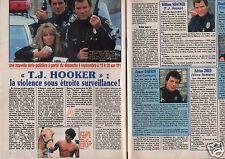 Coupure de presse Clipping 1990 William Shatner J. Darren H.Locklea (2 pages)