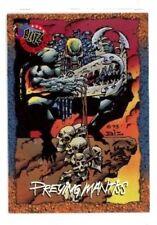 "1994 SKYBOX ""PREYING MANTISS"" PROMO TRADING CARD [P0] V/GOOD COND"
