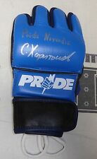 Sergei Kharitonov Signed Pride FC MMA Glove PSA/DNA COA Never Die Autograph 30