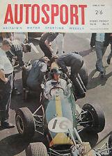 AUTOSPORT magazine 8/4/1966