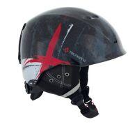 TecnoPro Jugend Erwachsenen Ski-Helm Skihelm XT IS8 Team black / red