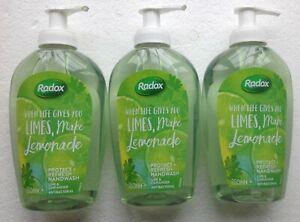 Radox Limes Make Lemonade, Lime & Coriander Hand Wash 3 x 250ml
