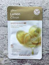 The Face Shop Real Nature Facial Mask Lemon 3 Pack