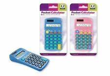 Black Handy School College 8 Digit Display Battery Powered Pocket Calculator