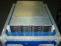 Supermicro 2U Server X9DRI-LN4F+ 2x Xeon E5-2670 2.6ghz 16 Cores 192gb 12x Trays