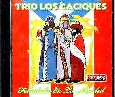 """TRIO LOS CACIQUES - """"FELICIDADES EN NAVIDAD""""- CD"""