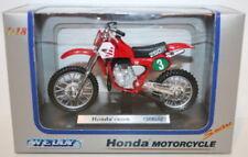 Motocross di modellismo statico WELLY scatola chiusa