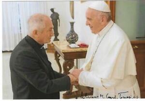 Eigenh. Autogramm Silvano Cardinal Tomasi, Kurienkardinal