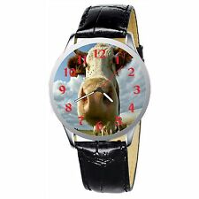 And The Cow Say Muhhhhh Stainless Wristwatch Wrist Watch