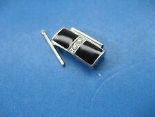 Bulova 98L109 Parts Link Ladies Watch S/S & Black Ceramic 16.00 Mm Link