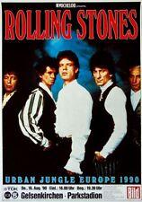 ROLLING STONES - 1990-08-16 - Konzertplakat - Gelsenkirchen - Gruppe